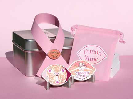 Pink Yime, Pin and Pouch